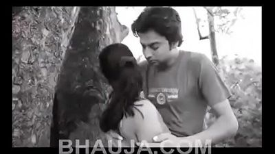 Indian Girl Desi Romance in Jungle - 9 min