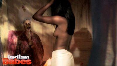 Indian Dark Skin Babe Amisha - 41 sec HD