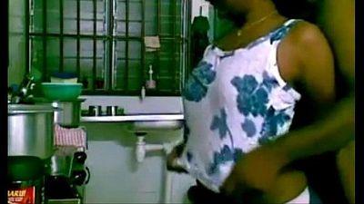 indian sex couple hardcore in kitchen - 8 min