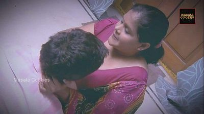 Chubby Indian / Desi Lady with younger man - 11 min