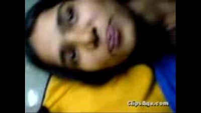 Desi virgin girl Jinitha getting fucked by her lover guy scandal video - 11 min