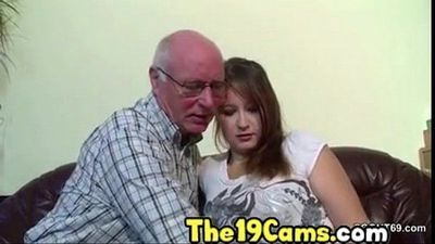 Slutty daughter amateur cam video - 15 min