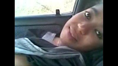 Indian Hot Young Girls fuck BF at car - Wowmoyback - 18 min