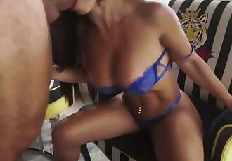 Cheating Wife Creams all over a Strangers Dick