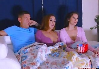 Alexis Deen and Isabel amazing threesome