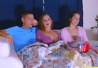 Alexis Deen and Isabel shared a cock fucked them on turnsHD