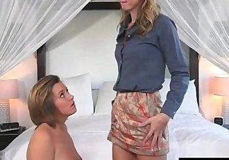 Bailey Bae and Alina Long lesbian sex
