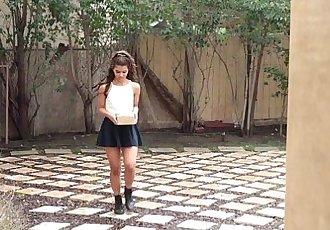 ExxxtraSmallSexy Petite Latina Fucks NeighborHD