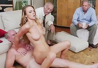 Sweet chick Molly Mae having a large dick to fuck