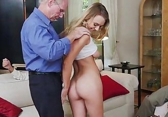 Teen Vixen Molly Mae Gets Fondled By Businessmen