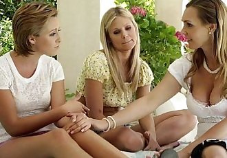 Scarlet Red, Tanya Tate and Bailey Bae at Mommys GirlHD