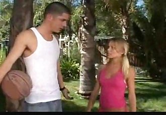 Hot Teen cheerleader pounded
