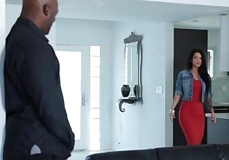 Katrina Jade Blowing Enormous Penis Black Guy