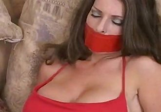 Goldie Blair Bound and Gagged From easycams.xyz