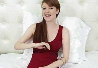 TeensDoPornBusty Red Head Abbey Rains Porn CastingHD
