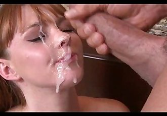 Petite Teen Redhead Fucked in the Kitchen by Peter North