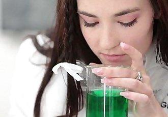 InnocentHighHot Girl Fucked In Chemistry Lab by TeacherHD