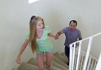 Mexican baby sitter fucks young teen blonde Avril Hall!!!HD