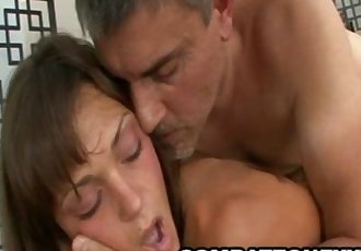 Olivia Wilder - Wild Teenager Fucked And Jizzed From Behind