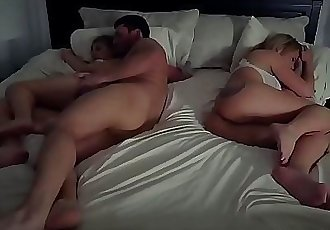 Santa playfellow allys daughter Stepdads Side Of The Bed 8 min HD