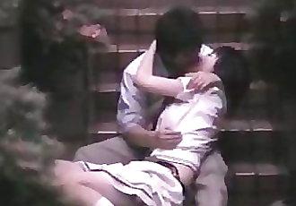 Japanese outdoor voyeur sex 247-1