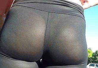 see thru milf leggings