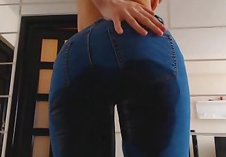 Wet jeans again