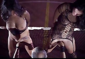 Sexual Submission for busty slaves trained for dominant cumshot swallowing