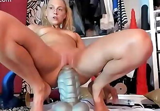Girls4cock.com *** How to Wreck Your asshole in 10 minuts 10 min