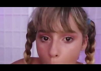 Little Teen in Pigtails POV BLOWJOB