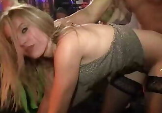 Nightclub Whores Suck and Fuck Male Strippers 63