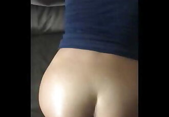 Fucking 18 Y/o Latina Girlfriend on Couch POV