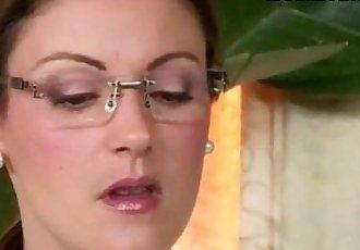 Strict stepmom Samantha Ryan caught Ava Hardy having sex