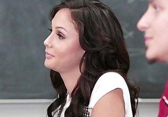Ariana Marie high school banged up