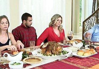 Moms Bang TeenNaughty Family ThanksgivingHD