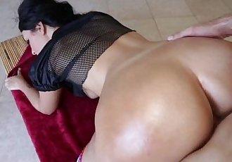 Massive ass spunked over