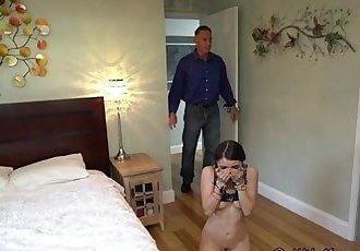 Teen Hoe Lucie Kline Receives Anal And Facial