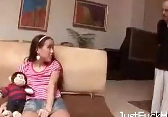 Fucking my Cute Little Daughter HardJustFuckHer.com