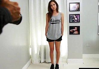 Rough Casting Fuck For Mila Jade