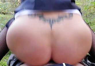 I fuck my FanBoy this summer in Public Forest Park!HD