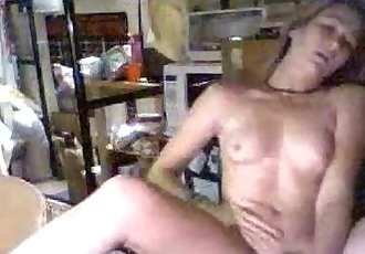 Blonde Teen Shoves Dildo in Her Hot Snatch-Watch Live at MyCamSluts.com