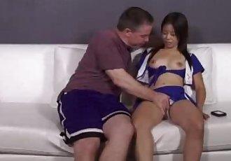Cock Sucking Asian Cheerleader