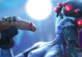 Overwatch PORN COMPILATION HD