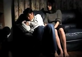 Asian Mom + Boy 03 From MatureSide