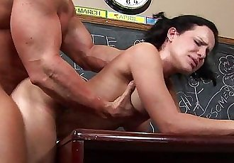 freckled cutie Katie Stives gets her trimmed pussy fucked hard - 5 min HD