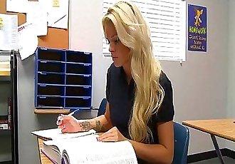 Teen Jessa Rhodes fucks teacher - 8 min