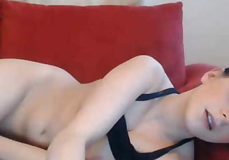 German Brunette Lets Viewers Vibrate Her Pussy