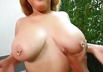 BBW With Fat Ass And Perfect Big Naturals Gets Freaky During Audition