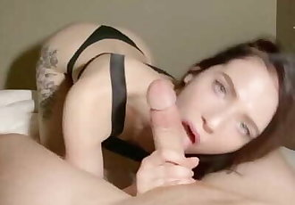 OH DAMN! Stepsister Fucked StepBro And got Creampie! She was displeased