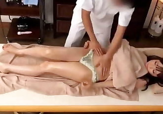 Cute Japanese massage